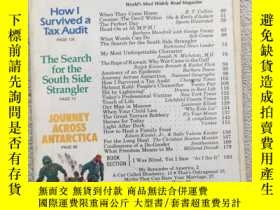 二手書博民逛書店reader s罕見digest HOW I SURVIVED