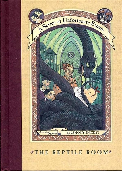 (二手書)Series of Unfortunate Events #02: The Reptile Room