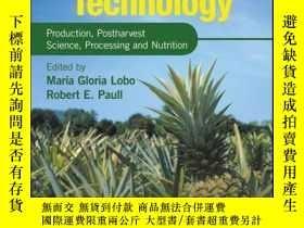 二手書博民逛書店Handbook罕見of Pineapple Technology: Production, Postharves