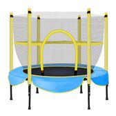 限定款彈跳床 蹦蹦床家用兒童室內小型成人寶寶小孩蹭蹭床家庭健身跳跳床帶護網jj