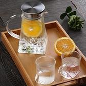 日系玻璃涼水壺耐高溫防暴煮茶壺燒水壺【櫻田川島】