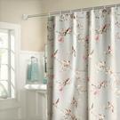 浴簾浴室洗澡掛簾子套裝防水防霉加厚免打孔衛生間門簾隔斷窗簾布