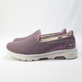 Skechers GO WALK 5 SWEET 健走鞋 繡花 15945MVE 女款 藕粉【iSport愛運動】