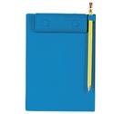 《享亮商城》Q66112 藍色 (B6)隨意型板夾 ABEL