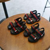 兒童涼鞋 夏季新款男童防滑涼鞋女童時尚耐磨休閒鞋露趾沙灘鞋正韓童鞋【618好康又一發】