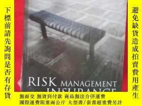 二手書博民逛書店Risk罕見Management and Insurance: