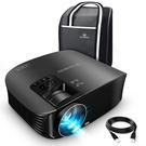 VANKYO 【日本代購】 迷你投影機 小型投影機3600流明1080P HD對應