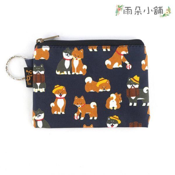 零錢包 包包 防水包 雨朵小舖雨朵防水包 M048-349 四方大零錢包-深藍公事包柴犬13184 funbaobao
