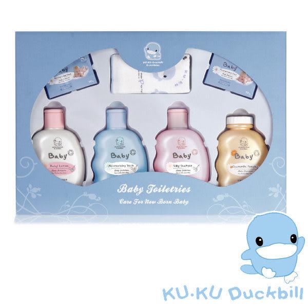 KUKU 酷咕鴨 嬰兒沐浴禮盒