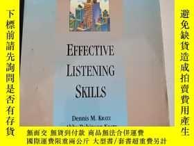 二手書博民逛書店Business罕見Skills Express Senies EFFECTIVE LISTENING SKILL