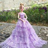 芭比娃娃 克時帝芭比娃娃套裝12關節體換裝公主女孩玩具單個裝生日禮物3D眼 一件82折