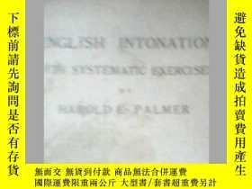 二手書博民逛書店ENGLISH罕見INTONATION WITH SYSTEMA