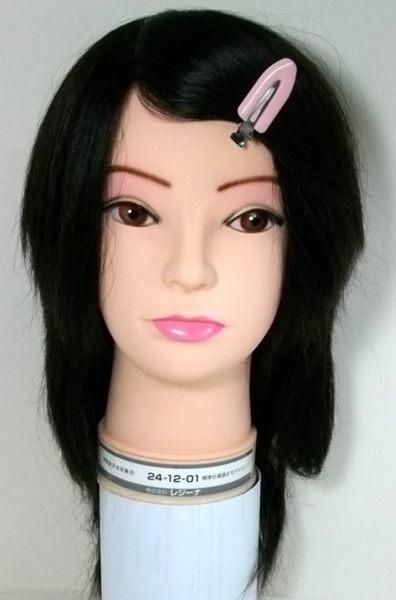 考試用日本假人頭  241201  仿真髮一根一根製作      日本原裝進口