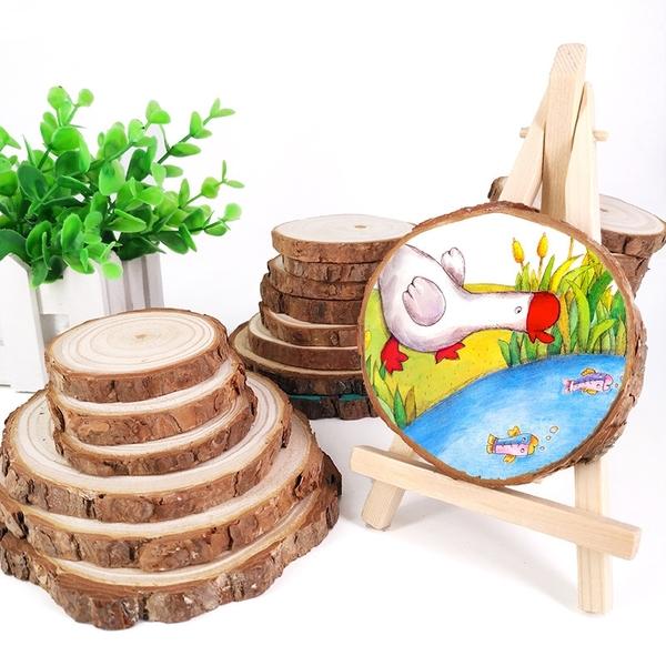 【BlueCat】天然原木片DIY材料 (中號) 拍照道具 手繪板 實木