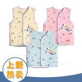 嬰兒馬甲保暖純棉背心無袖上衣3男女寶寶新生兒坎肩衣服Y-0900優一居