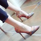 尖頭高跟涼鞋 女顯瘦高跟鞋【多多鞋包店】z1046