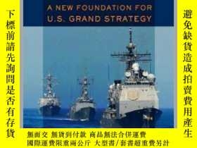 二手書博民逛書店約束:美國大戰略的新基礎罕見Restraint : A New Foundation for U.S. Grand