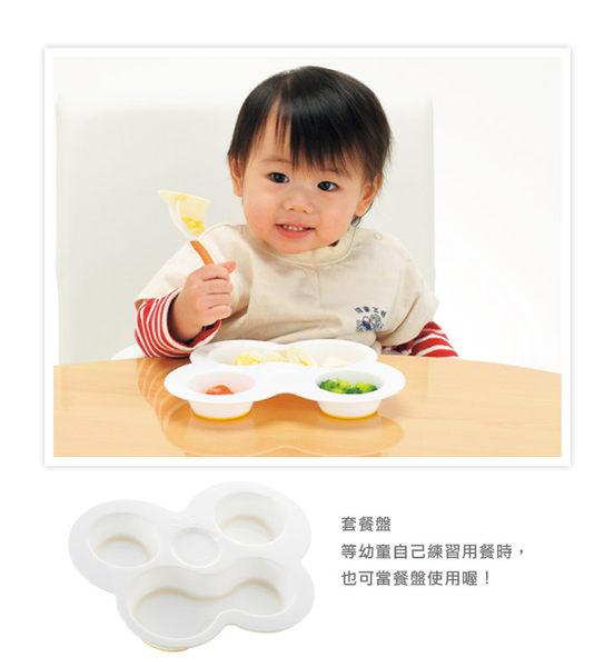 日本Richell利其爾- ND 離乳食初期餐具套組(盒裝) 713元