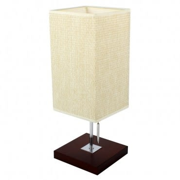 秋原木質桌燈