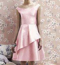 (45 Design創意禮服館) 現做 緞短裙 包肩肩禮服 伴娘禮服 新娘敬酒服 婚紗禮服