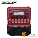 【預購】ZOOM B1 FOUR 電貝斯專用綜合效果器 原廠公司貨 一年保固【Guitar Effects Pedal】
