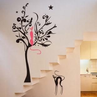 韓國牆貼窗帖 浪漫滿屋 可愛創意壁貼 -kor0014