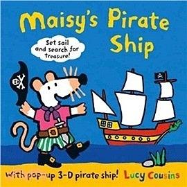 【麥克兒童書店】MAISYS PIRATE SHIP/ 小鼠波波的海盜船