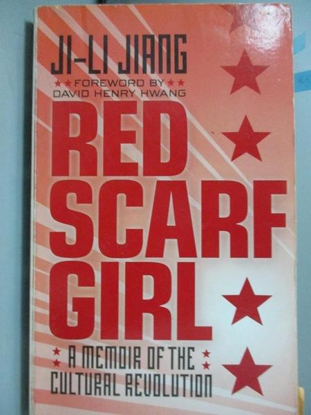 【書寶二手書T2/原文小說_HHK】Red Scarf Girl_Jiang