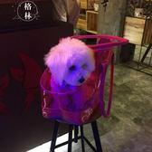 全透明寵物包PVC貓狗外出包狗狗包包外帶小狗包便攜包 【格林世家】