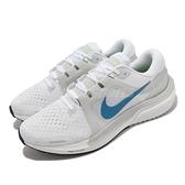 Nike 慢跑鞋 Air Zoom Vomero 16 白 藍 氣墊 路跑 男鞋 運動鞋【ACS】 DA7245-101