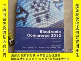 二手書博民逛書店Electronic罕見Commerce 2012 (Globa