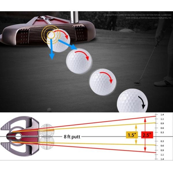 POSMA PGM 高爾夫球桿 比賽球桿 鐮刀型推桿 金色 TUG022-GOL