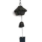 日本鑄鐵風鈴南部鐵器【岩鑄】東屋 風鈴-小 日本製 手工鑄鐵鐵鈴噹 開運