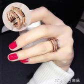 日韓潮人指環百搭歐美韓版女戒韓國時尚誇張女士戒指食指配飾     麥吉良品