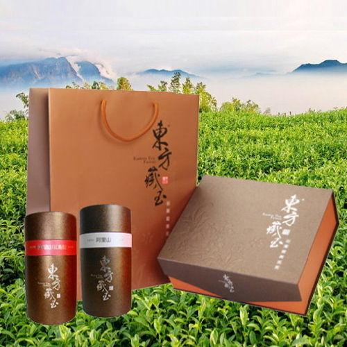 東方藏玉 - 茶葉禮盒 (阿里山高山茶+阿里山紅烏龍)