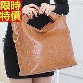 手提包-真皮低調奢華脫俗感受側背女包包2款9色68m15[巴黎精品]
