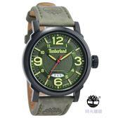 Timberland  美式 防水 錶 (TBL.14815JSB/19) 綠/46mm