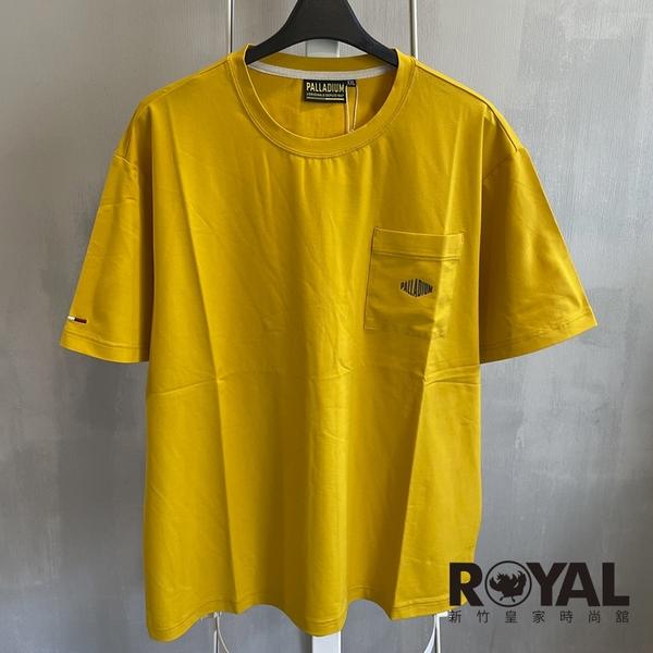 Palladium 黃色 棉質 短袖 上衣 男女款 NO.H3346【新竹皇家 105045-701】