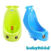 【奇買親子購物網】baby hood 藍鯨艾達便斗(綠色/藍色)