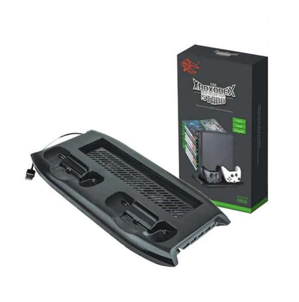 二代XBOX ONE X天蠍座 多功能底座風扇支架 副廠