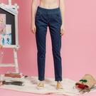 【中大尺碼】MIT經典冰涼紗牛仔長褲...