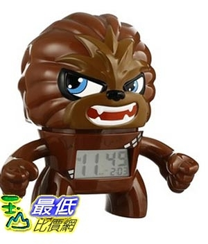 [美國直購] Bulb Botz BulbBotz Star Wars 2020077 人偶鬧鐘 秋巴卡 Chewbacca Alarm Clock 星際大戰