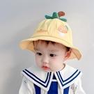 兒童遮陽帽 寶寶帽子春秋薄款嬰兒太陽帽男女嬰幼兒漁夫帽夏季遮陽帽防曬純棉-Ballet朵朵