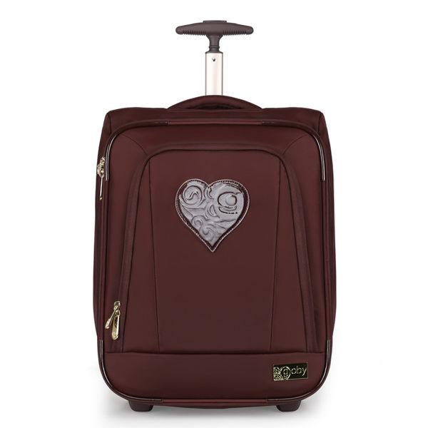 GOBY 果比Love 系列-20吋四輪行李箱 L200- 巧克力[禾雅時尚]
