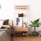 北歐云梯床頭櫃簡約現代臥室收納櫃網紅歐式...