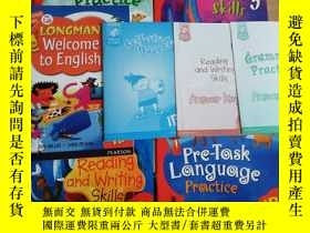 二手書博民逛書店LONGMAN罕見WELCOME TO ENGLISH + Gr