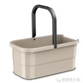 益偉大號清潔水桶 塑料拖地桶長方形儲水桶家用膠棉拖把清洗桶ATF 探索先鋒