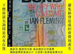 二手書博民逛書店007系列罕見邦德 JAMES BOND THE SPY WHO LOVED MEY411026 IAN FL