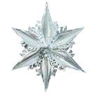 聖誕 裝飾 佈置 21吋錫箔星星吊飾