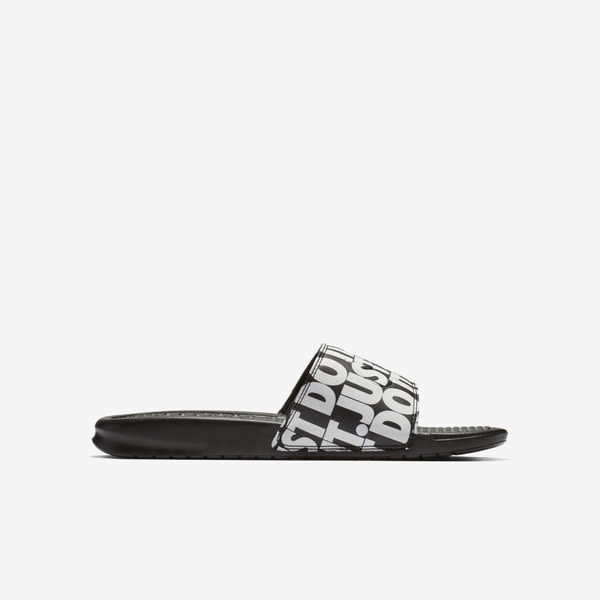 Nike Benassi JDI Print [631261-024] 男鞋 拖鞋 涼鞋 運動 休閒 雨天 海邊 黑